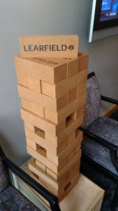 Learfield Jenga!